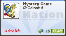 New Mystery Game contents: